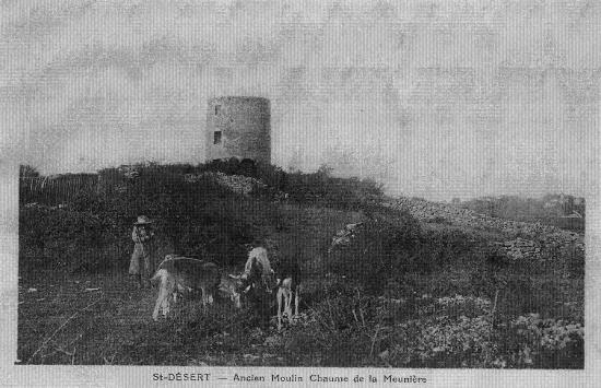 Le moulin, début 1900