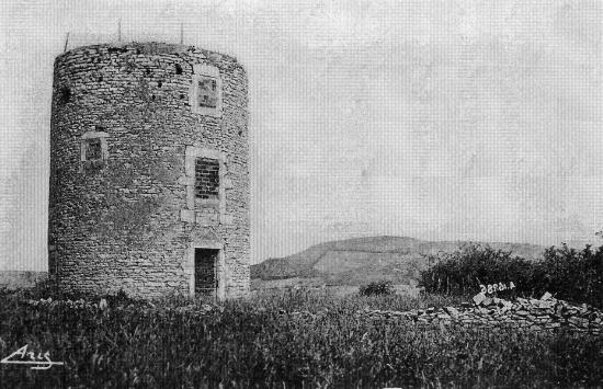 Le moulin vers 1950
